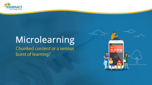 Microlearning, chunked or burst of learning