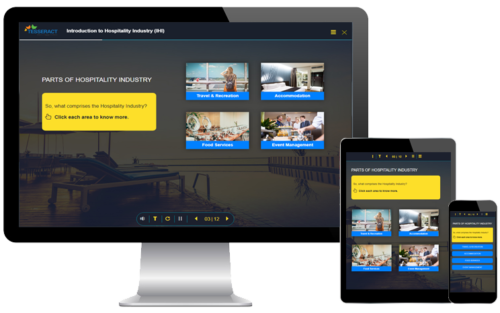 Fully Responsive course on Hospitality