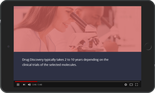 Video based learning example - Understanding Drug Discovery Process