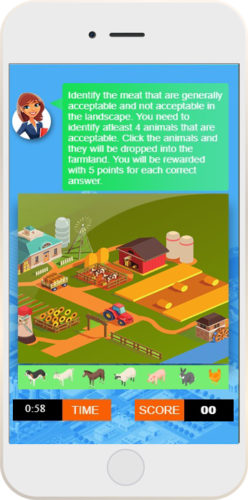 Gamified Microlearning Course - Food Industry