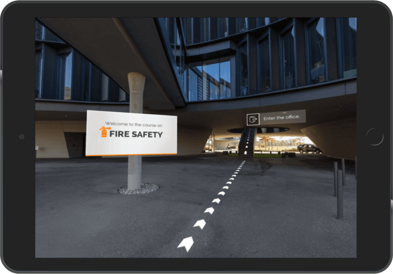 Virtual Reality In eLearning: A Case Study On Safety Training