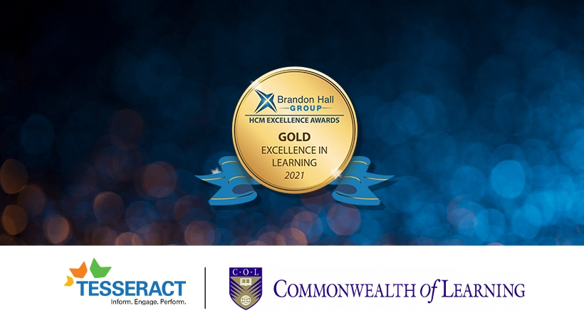 Case Study: How Tesseract Learning Transformed COL's C-DELTA Programme into a Gold Brandon Hall Winning Place to Learn